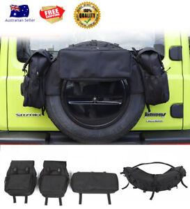 Rear Spare Tire Storage Bag Suzuki Jimny JB74 2019+ Vehicle 4x4 Accessories New