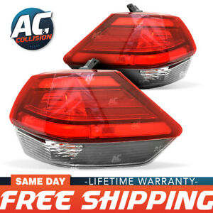 11-6973-00-1-11-6974-00-1 Tail Light Right & Left Sides For 2017 Nissan Rogue