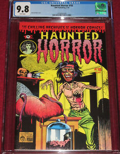 HAUNTED HORROR # 18 (2015) Classic Weird Tales of the Future #8 cover by Baily!