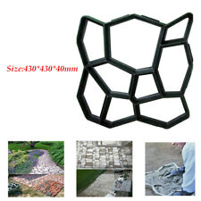 Plastic Mintiml Path floor mould DIY Path Maker Mold Courtyard Creating.