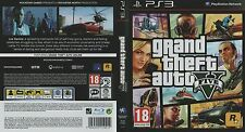 Grand Theft Auto V GTA-Sony PS3 Jeu-great condition BA