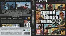 GRAND THEFT AUTO V GTA-SONY PS3 GAME-Ottime condizioni BA