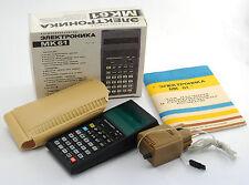 NOS NEW BOX vintage Russian Soviet programmable calculator set ELEKTRONIKA MK61