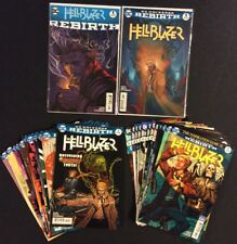 HELLBLAZER #1 - 24 Comic Books COVER A FULL SERIES +DC Universe Rebirth #1 2016