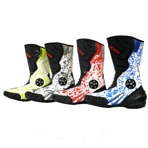 KIDS XTRON ADVENTURE MOTORBIKE MOTORCYCLE RACING ARMOUR SPORTS BOOTS NEW CHILD