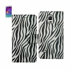 Reiko Samsung Galaxy Note 4 3-In-1 Animal Zebra Print Wallet Case In Black | Max