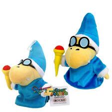 2pcs Super Mario Magikoopa Kamek Plush Doll Stuffed Anime Magic Figure Toy Set