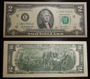 unc. 2 Dollar Schein San Francisco, California (L) 2013 – Two Dollars USA unc.