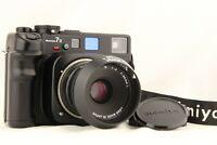 【 MINT 】 MAMIYA 7 II Black 6x7 Medium Format + N 80mm f4 L Lens from JAPAN