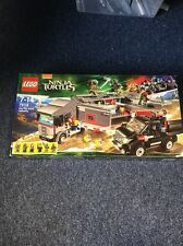 79116 LEGO Ninja Turtles Big Rig Snow Getaway Only One In The Uk Sealed New