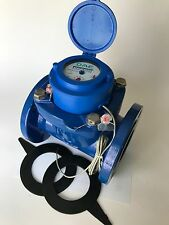 """DAE WP-300P 3"""" Woltmann Helix Water Meter, Pulse Output, Gallon"""