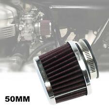 Motorcycle Carburetor 50MM Air Filter ATV Elliptical Intake fit For Honda Suzuki