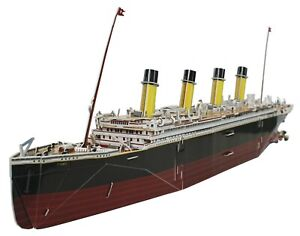 Titanic Collectors 3d Model 287 Piece Jigsaw Puzzle (sg)