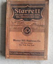 Vintage 1938 Starrett Hardware Catalog no 26