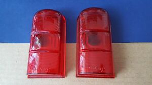 49 50 Plymouth DeSoto Dodge Woody Wagon taillight light lens PLYAG OEM NOS DPCD