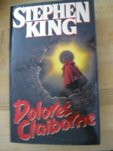 1992 Stephen King DOLORES CLAIBORNE First Edition Hardcover Book