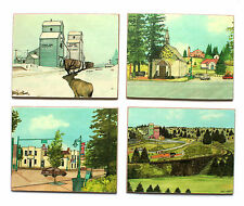 Set of 4 Coasters with Artwork of Alberta Alan Nuttall Known Canadian Painter