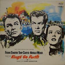 "OST - SOUNDTRACK - KINGS GO FORTH - ELMER BERNSTEIN  12"" LP (M822)"