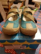 Size 9 EU 27 Blue Bo-Belle girls Leather Shoes BNIB