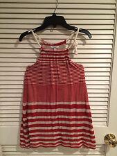 Luna Luna Copenhagen Girls Red Striped Dress with Red Leggings Size 8
