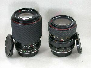 Pair of Tokina SD Zoom Lenses 28-70mm & 70-210mm Both Pentax PKA Fit