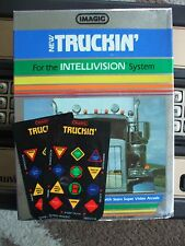 NEW TRUCKIN' OVERLAYS FOR INTELLIVISION GAME FLASHBACK
