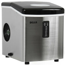 Ice Maker Portable Countertop Freestanding Icemaker 35lb Per/Day Stainless Steel