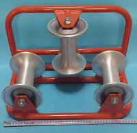 Corner Roller Conduct Roller Cable Sheave Roller Aluminum Cable Roller