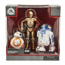 Star Wars TFA Elite Series Die Cast Droid Gift Pack R2, BB-8 C3PO Ship Worldwide