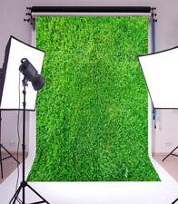 Photo Backdrops Blue Grass Photography Background Vinyl Studio 4x6FT