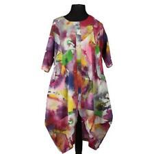 Kleid Tunika Baumwolle - La Bass - BUNT - Gr.48 50