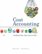 Cost Accounting: Foundations & Evolutions