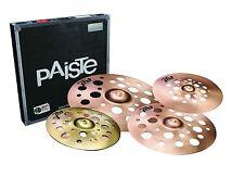 Paiste PSTX Swiss Crash Cymbal Set/FREE Stick & Cymbal Bag With Purchase/NEW!