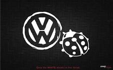 VW Volkswagen Beetle Bug - Decal Sticker - Ladybug