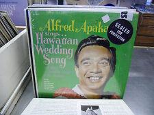 Alfred Apaka Sings Hawaiian Wedding Song vinyl LP Decca Records EX IN Shrink
