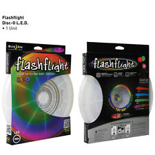 LED LIGHT UP FLYING DISC MULTI COLOR FRISBEE NIGHT FUN BBQ BEACH SUMMER FUN NEW