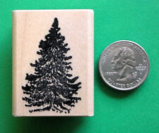 Pine Tree, Wood Mounted Rubber Stamp
