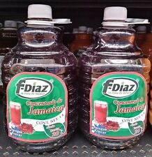 Consentrado de Jamaica Mexican Drink Mix 1lt. Makes 5 Gallons~ 2 Bottles~ NEW!