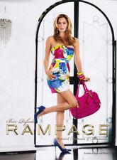 Bar Rafaeli 1-pg clipping 2010 ad for Rampage