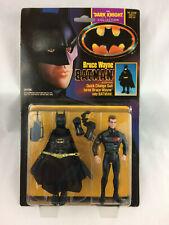 Batman Bruce Wayne Quick Change Suit Dark Knight Kenner Action Figure 1990