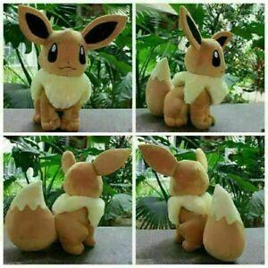 Pokémon Evoli Eevee Plüschtier Stofftier Plüsch Spielzeug Kuscheltier Geschenk