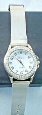 Geneva Female watch with silver mesh strap