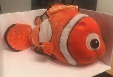 "Disney Pixar Finding Nemo Plush Nemo 18"" Orange Fish"