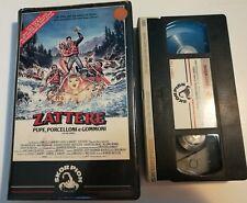 VHS - ZATTERE - PUPE PORCELLINI E GOMMONI di Robert Butler [SKORPION]