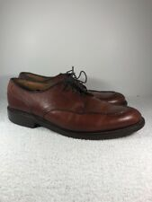 Allen Edmonds Bradley Split Toe Oxfords Ox Brown US Made Men's 9D 2661 3021