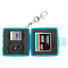 JJC Small Compact Memory Card Case For 1 CF  2 SD SDHC SDXC  2 TF MSD Micro SD