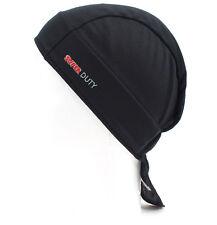 HEADSWEATS COOLMAX GEARS SHORTY CYCLING CAP HAT BANDANA BLACK