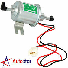 New 12V Electric Diesel Petrol Fuel Pump Low Pressure Bolt Fixing Wire HEP-02A
