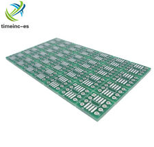 10PCS NEW SOP8 SO8 SOIC8 To DIP8 Interposer Board PCB Board Plate Adapter