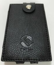 TUFF LUV Faux Leather Case Cover for FiiO Amp Q1 mark II 2 FQ1222 - Black